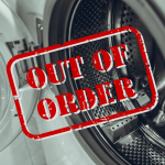 Out of Order Laundry Machine
